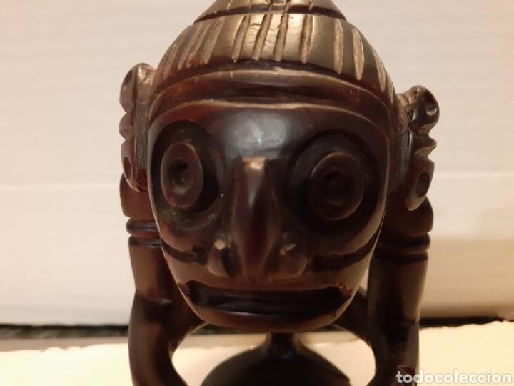 Arte: Objeto decorativo realizado a mano arte africano en madera de ébano - Foto 5 - 184868996
