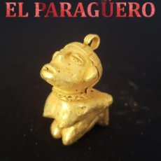 Arte: INDIO OITO PRECOLOMBINO QUIMBAYA DE ORO TUMBAGA MIDE 4 X 3 CENTIMETROS PESO 28 GRAMOS - Nº80. Lote 184891860