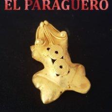 Arte: RANA ZOOMORFA PRECOLOMBINO QUIMBAYA DE ORO TUMBAGA MIDE 2,5 X 5,5 CENTIMETROS PESO 30 GRAMOS - Nº87. Lote 184893636