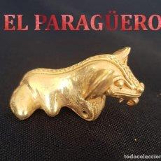 Arte: RANA ZOOMORFA PRECOLOMBINO QUIMBAYA DE ORO TUMBAGA MIDE 5 X 4 CENT PESO 13 GRAMOS -N90. Lote 184895080