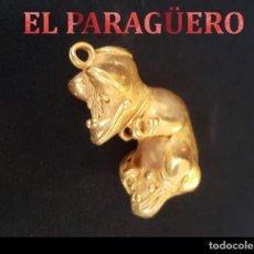 Arte: RARO ANIMAL ZOOMORFO PRECOLOMBINO QUIMBAYA DE ORO TUMBAGA MIDE 4 X 2,5 CENT PESO 18 GRAM -N93. Lote 184895597