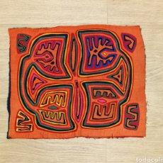 Arte: MOLA TELA INDIOS KUNA DE PANAMÁ AÑOS 70. Lote 185912793