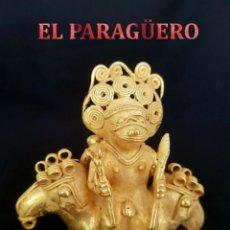 Arte: CHAMAN DOBLE YO PRECOLOMBINA QUIMBAYA DE ORO TUMBAGA PESO 154 GRAM - Nº98. Lote 186101162