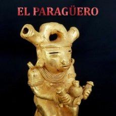 Arte: CACIQUE COCHIQUE PRECOLOMBINA QUIMBAYA DE ORO TUMBAGA PESO 122 GRAM - Nº100. Lote 186102510