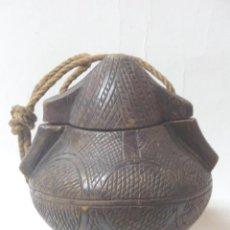 Arte: CONTINENTE TALLA ÉTNICO AFRICANO.BAKONGO. CONGO. ÁFRICA.-. Lote 187458270