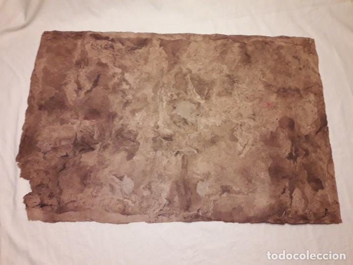 Arte: Bella pintura arte popular Mexicano pintada a mano en papel Amate - Foto 10 - 188485473