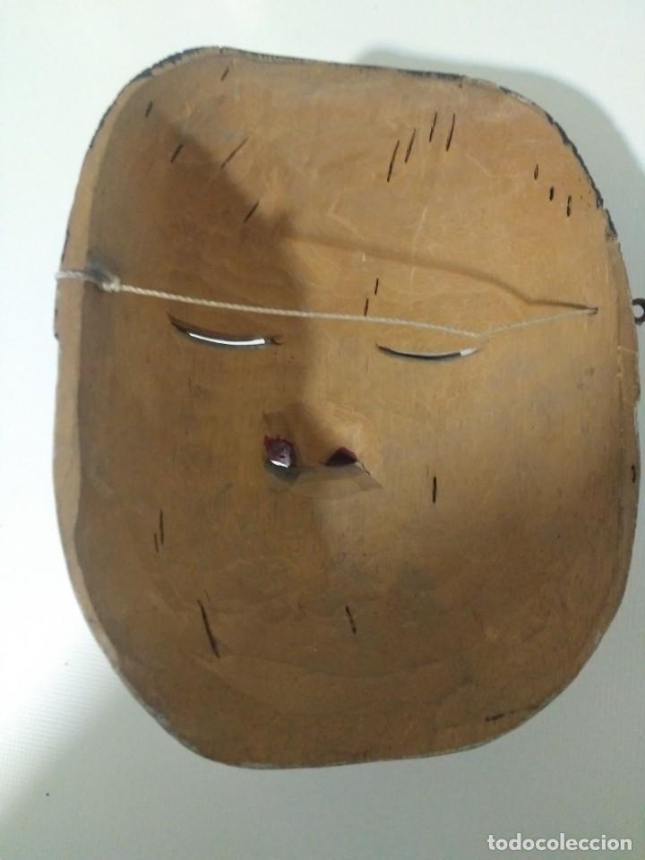 Arte: Antigua máscara de madera arte tribal en buen estado - Foto 3 - 188524572