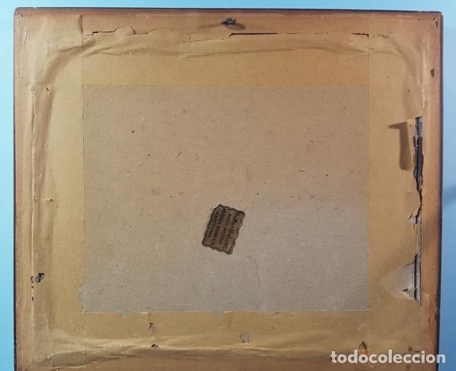 Arte: LOTE 5 CUADROS JAPONESES BORDADOS SOBRE TELA CON MARCO Y CRISTAL (EXCEPTO UNO) VER DESCRIPCION - Foto 7 - 189204738
