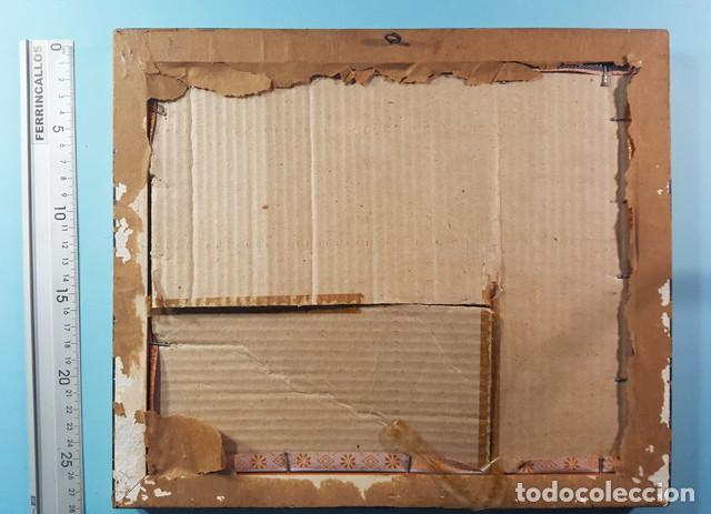 Arte: LOTE 5 CUADROS JAPONESES BORDADOS SOBRE TELA CON MARCO Y CRISTAL (EXCEPTO UNO) VER DESCRIPCION - Foto 10 - 189204738