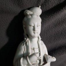 Arte: ESCULTURA ANTIGUA CHINA ,BLANCO DE CHINA. Lote 189234442