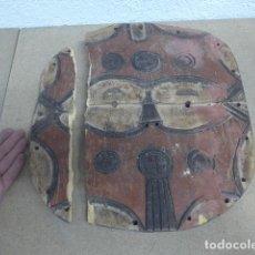 Arte: ANTIGUA MASCARA AFRICANA DE MADERA TALLADA, ORIGINAL, DE TRIBU TEKE, DE CONGO O GABON. Lote 189306441