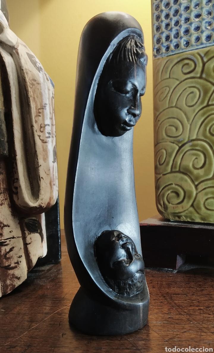 ÉBANO. FIGURA MATERNIDAD. (Arte - Étnico - África)