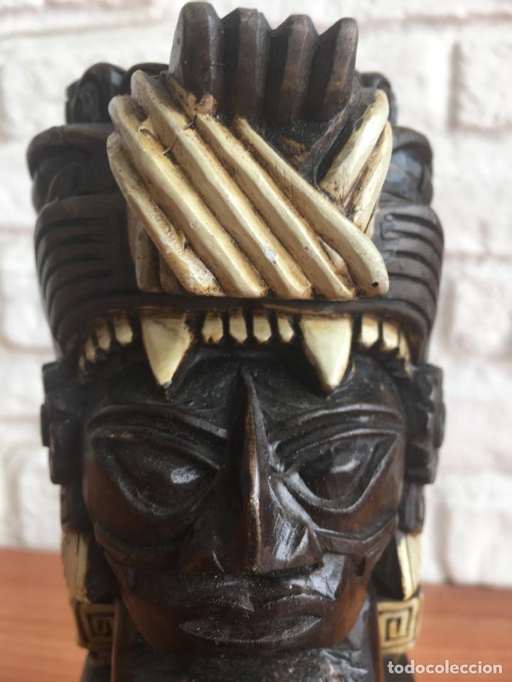 Arte: Totem escultura Maya Azteca por Identificar - Foto 6 - 190513575