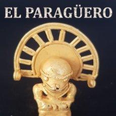 Arte: CHAMAN ZOOMORFO PRECOLOMBINA QUIMBAYA DE ORO TUMBAGA PESO 27 GRAM - Nº113. Lote 191229980