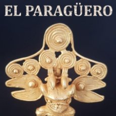 Arte: HOMBRE PAJARO PRECOLOMBINA QUIMBAYA DE ORO TUMBAGA PESO 53 GRAM - Nº114. Lote 191230145