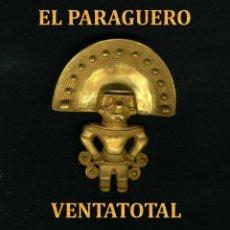 Arte: CHAMAN PRECOLOMBINA QUIMBAYA DE ORO TUMBAGA PESO 57 GRAM - Nº118. Lote 191230851