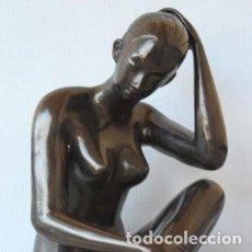 Arte: FIGURA DE BRONCE. Lote 191372117