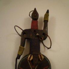 Arte: MUÑECA AFRICANA. FERTILIDAD. ÉTNIA NAMJI. CAMERUN. Lote 192096226