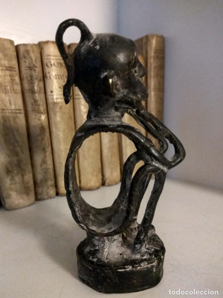 Arte: ESCULTURA DE BRONCE ARTE ETNICO DE PAPUA NUEVA GUINEA - Foto 7 - 192478162