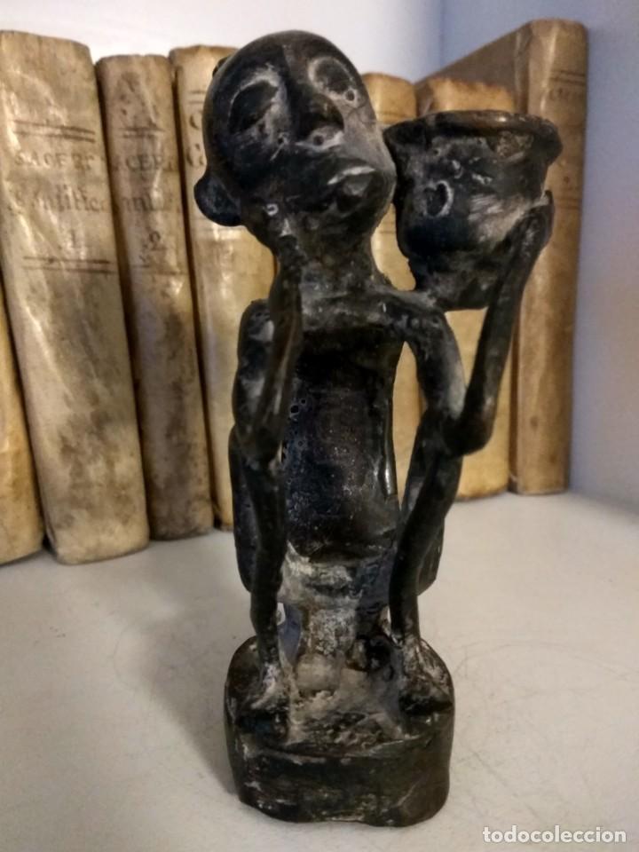 Arte: ESCULTURA DE BRONCE ARTE ETNICO DE PAPUA NUEVA GUINEA - Foto 10 - 192478162