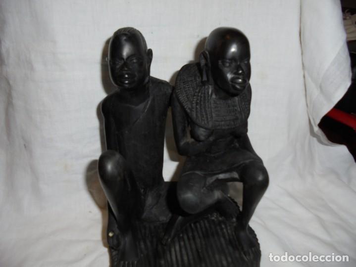 FIGURA ETNICA DE EBANO ? (Arte - Étnico - África)