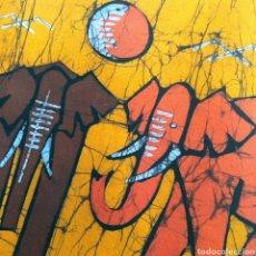 Arte: BATIK AFRICA MOZAMBIQUE ARTE AFRICANO PINTURA 70X40. Lote 192725050