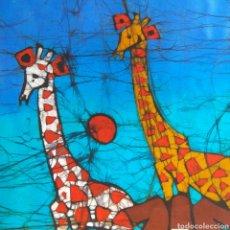 Arte: BATIK AFRICA MOZAMBIQUE ARTE AFRICANO PINTURA 70X40. Lote 192725743