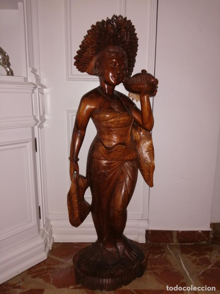 ESTATUA TAILANDESA (Arte - Étnico - Oceanía)