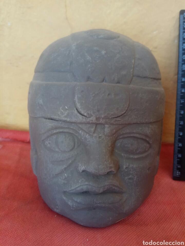 ÍDOLO OLMECA (Arte - Étnico - América)
