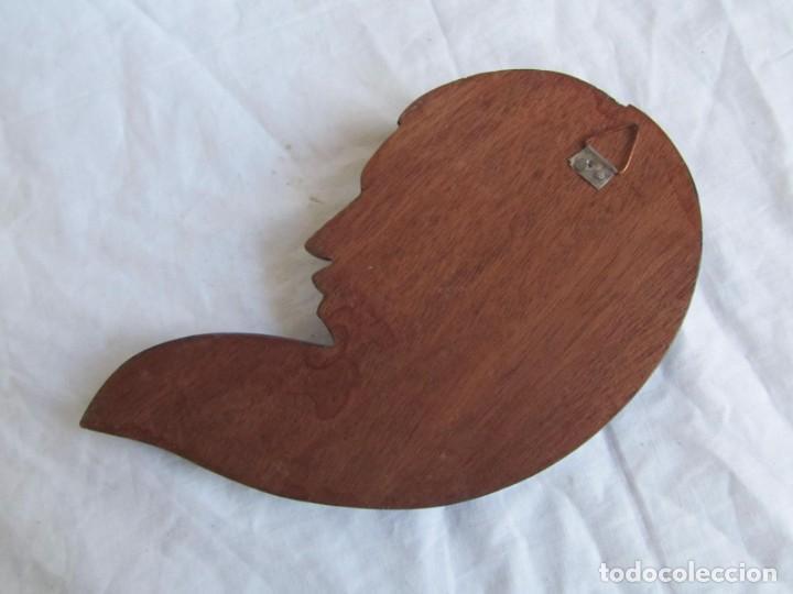 Arte: Caretas de madera hechas y pintadas a mano para colgar Perú - Foto 7 - 194218681