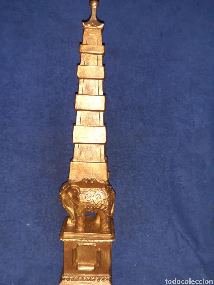 FIGURA ÉTNICA DE ELEFANTE BUTA 43 CM (Arte - Étnico - Asia)