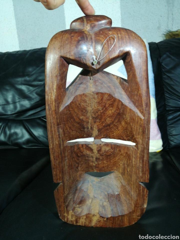 Arte: ANTIGUA MASCARA AFRICANA 42x18 cm - Foto 7 - 194300092