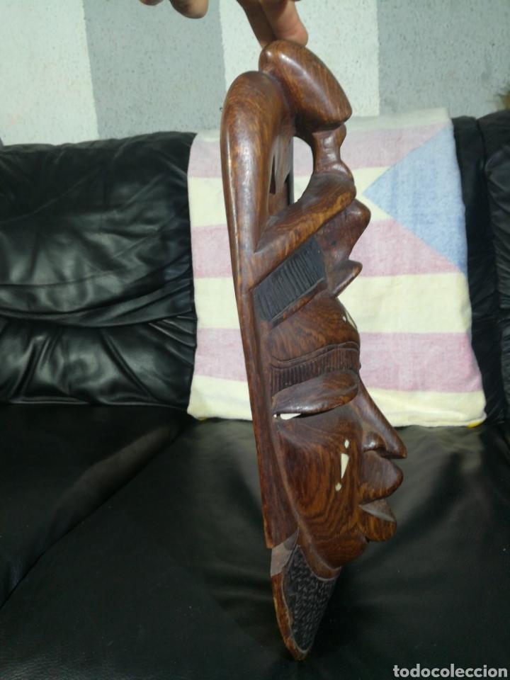 Arte: ANTIGUA MASCARA AFRICANA 42x18 cm - Foto 8 - 194300092