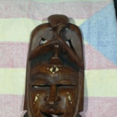 Arte: ANTIGUA MASCARA AFRICANA 42X18 CM. Lote 194300092
