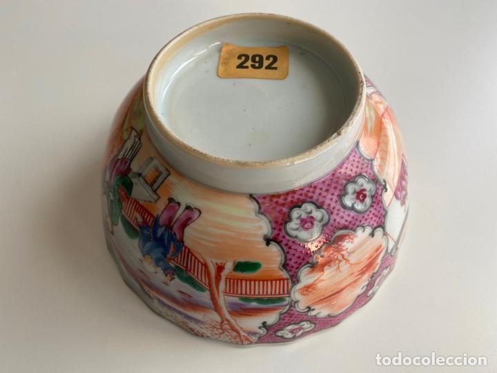 Arte: BOL DE PORCELANA CHINA , COMPAÑÍA DE INDIAS , FAMILIA ROSA , CHINESE PORCELAIN EXPORT ROSE - Foto 4 - 194324947