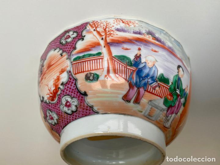Arte: BOL DE PORCELANA CHINA , COMPAÑÍA DE INDIAS , FAMILIA ROSA , CHINESE PORCELAIN EXPORT ROSE - Foto 5 - 194324947