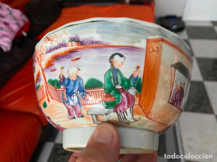 Arte: BOL DE PORCELANA CHINA , COMPAÑÍA DE INDIAS , FAMILIA ROSA , CHINESE PORCELAIN EXPORT ROSE - Foto 8 - 194324947