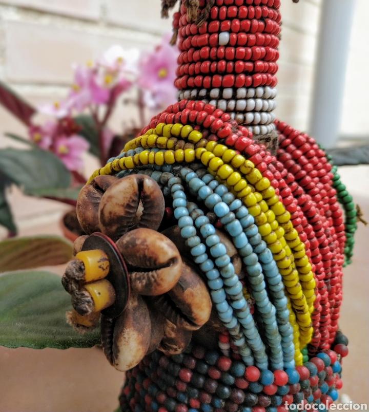 ANTIGUA MUÑECA AFRICANA NAMJI, CAMERÚN (Arte - Étnico - África)