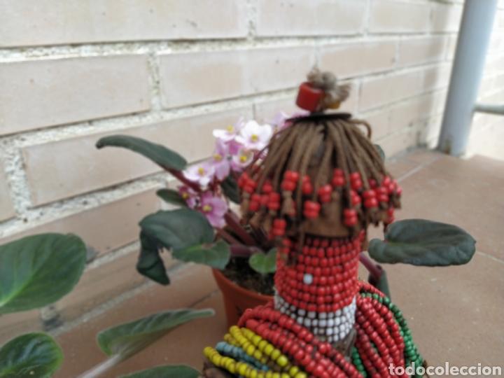 Arte: Antigua muñeca africana Namji, Camerún - Foto 2 - 194384785