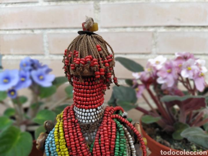 Arte: Antigua muñeca africana Namji, Camerún - Foto 3 - 194384785