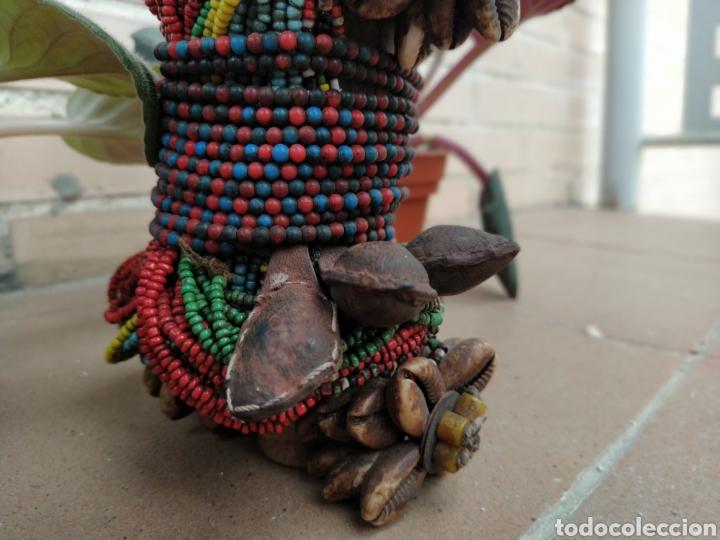Arte: Antigua muñeca africana Namji, Camerún - Foto 4 - 194384785