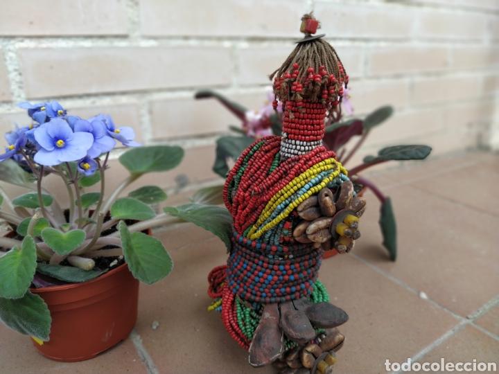 Arte: Antigua muñeca africana Namji, Camerún - Foto 6 - 194384785