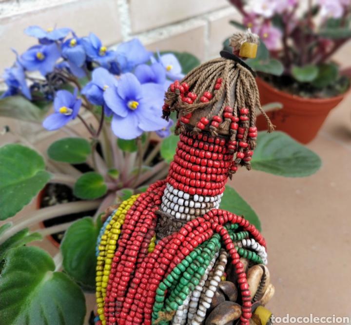 Arte: Antigua muñeca africana Namji, Camerún - Foto 7 - 194384785