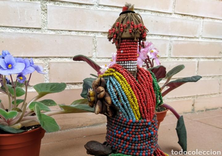 Arte: Antigua muñeca africana Namji, Camerún - Foto 9 - 194384785