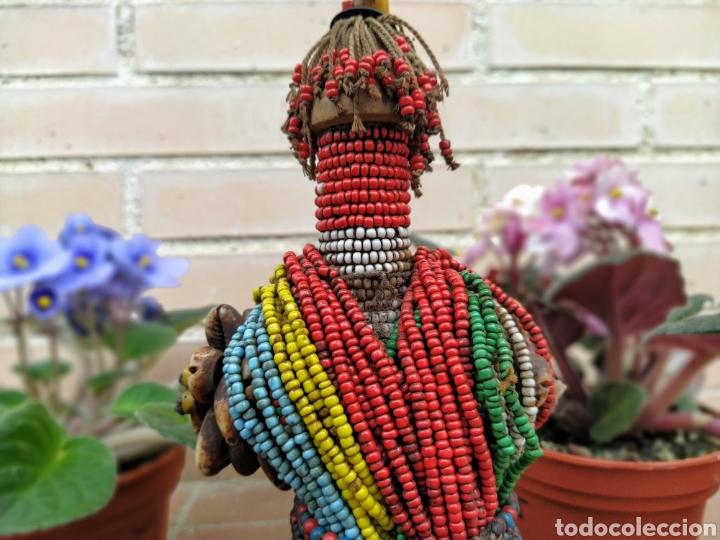 Arte: Antigua muñeca africana Namji, Camerún - Foto 11 - 194384785