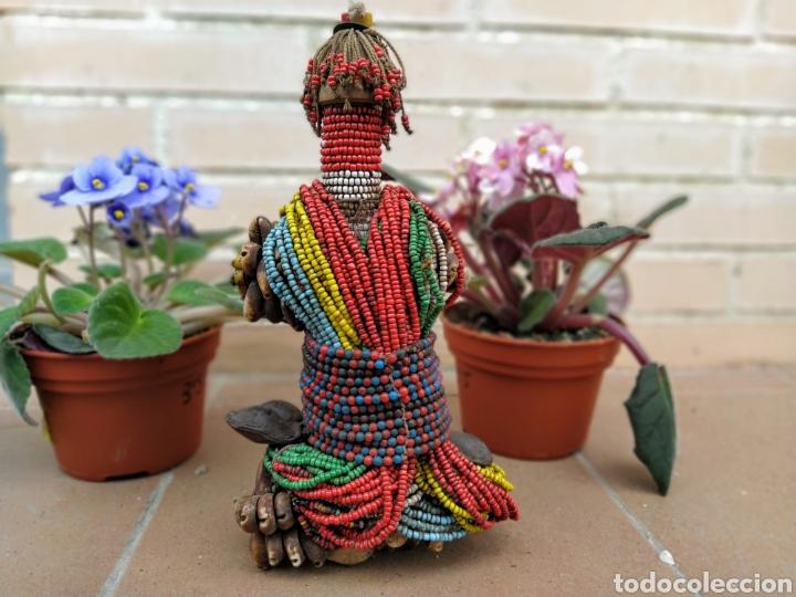 Arte: Antigua muñeca africana Namji, Camerún - Foto 13 - 194384785