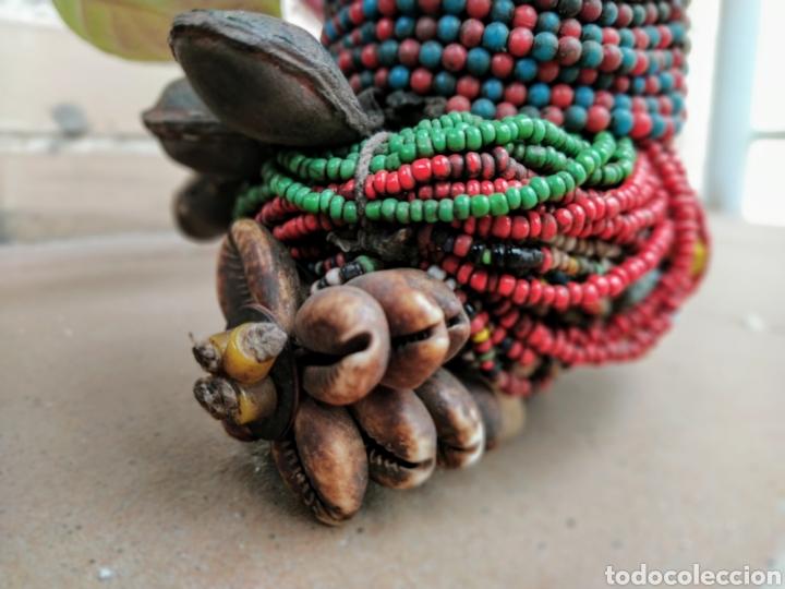 Arte: Antigua muñeca africana Namji, Camerún - Foto 14 - 194384785
