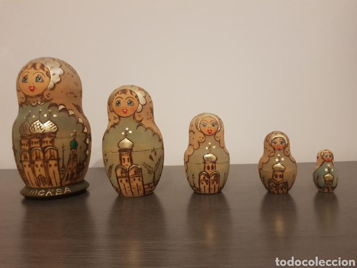 MATRIUSKAS RUSAS (Arte - Étnico - Europa)