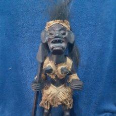 Arte: FIGURA ARTESANAL ÉTNICA AFRICANA. Lote 194941148