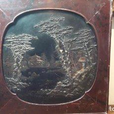 Arte: CUADRO DE LACA CHINO. Lote 194994953
